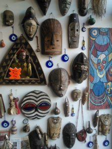 Masks at Calabar Imports